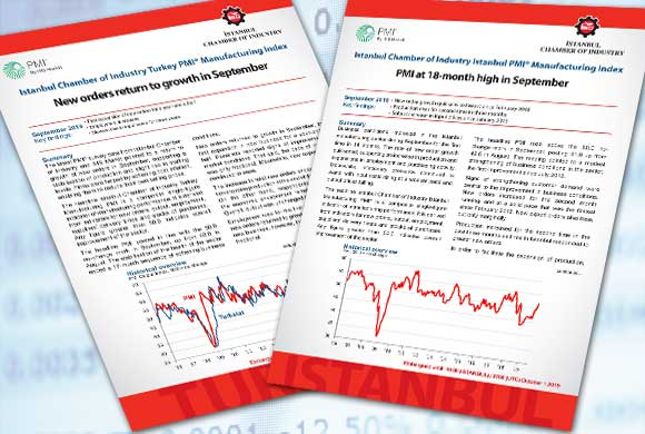 Istanbul Chamber of Industry Announces Turkey and Istanbul Manufacturing PMI September 2019 Reports