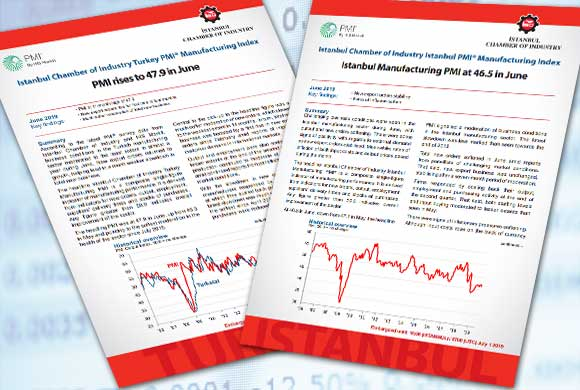 İstanbul Chamber of Industry, Turkey and İstanbul Production PMI June 2019 Reports Were Announced