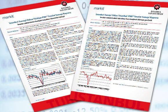 İstanbul Sanayi Odası Türkiye ve İstanbul İmalat PMI Kasım Ayı Raporları Açıklandı
