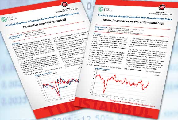 Istanbul Chamber of Industry Announces Turkey and Istanbul Manufacturing PMI November 2019 Reports