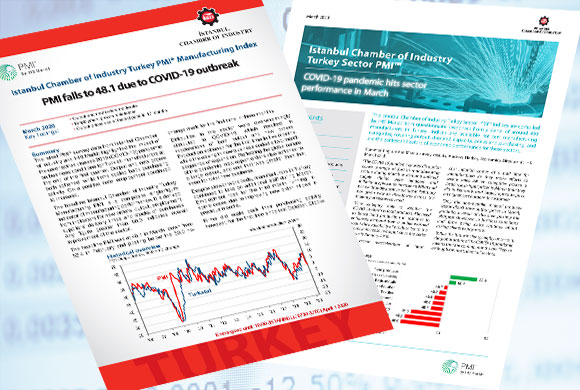 Istanbul Chamber of Industry - Turkish Manufacturing PMI March 2020 Report and Istanbul Chamber of Industry - Turkish Sectoral PMI Survey Were Announced