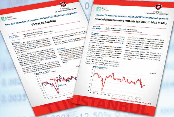 Istanbul Chamber of Industry Announces Turkey and Istanbul Manufacturing PMI May 2019 Reports