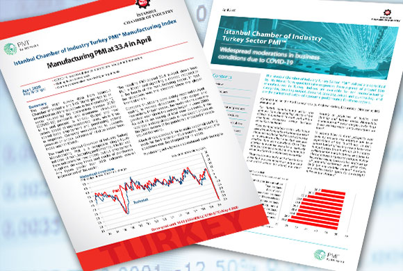 ICI Turkish Manufacturing PMI April 2020 Report and Turkish Sectoral PMI Report Were Announced