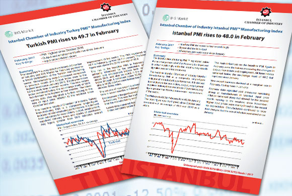 Istanbul Chamber of Industry Announces the Turkey and Istanbul PMI Manufacturing Survey Results for February 2017