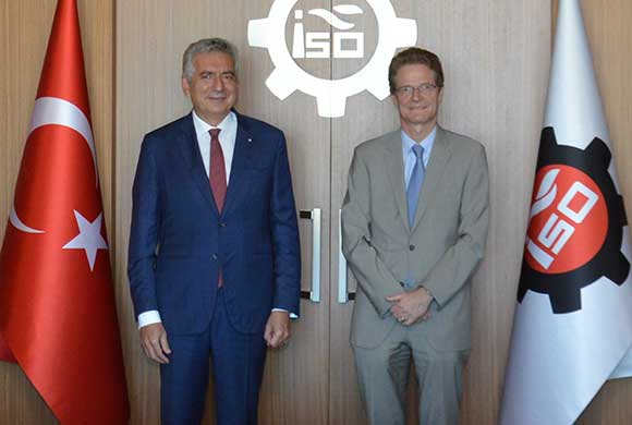 Meyer-Landrut, New President of EU Turkey Delegation Visited ICI