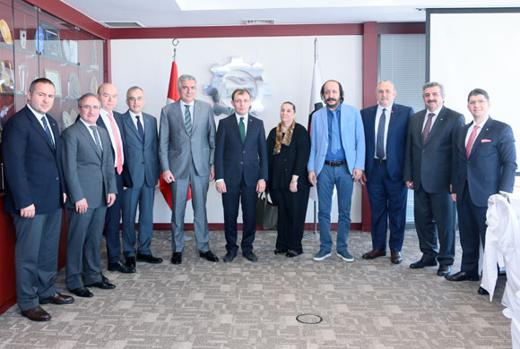 AK Parti Yönetiminden, İSO Meclis Divanı ve Yönetim Kurulu Üyelerine Ziyaret