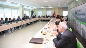 İstanbul Anadolu Yakası OSB, İSO ve DEİK Başkanlarını Ağırladı 01
