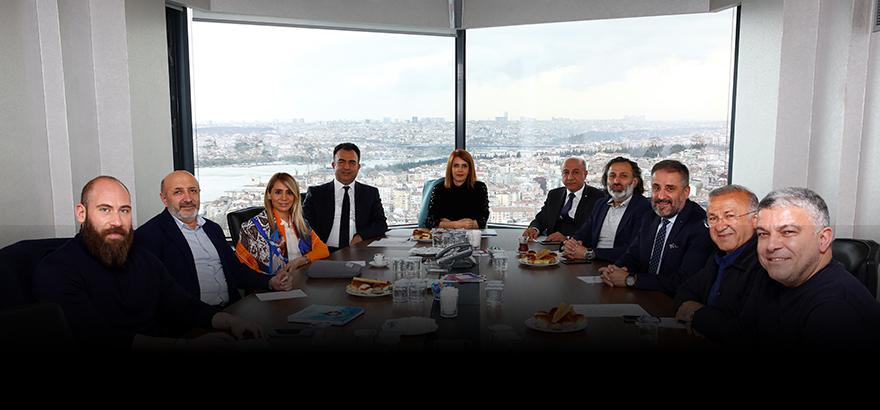 10, 11 ve 12. Grup Meslek Komiteleri Ortak Toplantı Gerçekleştirdi