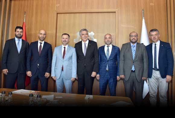 Anadolu Aslanları İş Adamları Derneği Yönetimi, İSO Başkanı Bahçıvan'ı Ziyaret Etti