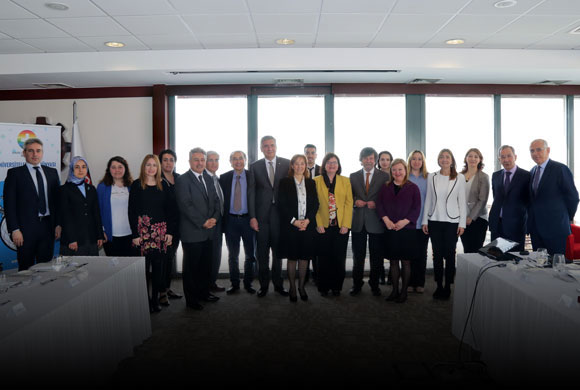 Avrupa Staj Konsorsiyumu Bilgilendirme Toplantısı Yapıldı