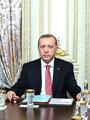 Cumhurbaşkanı Recep Tayyip Erdoğan B20 Yönetim Kurulu Üyelerini Kabul Etti
