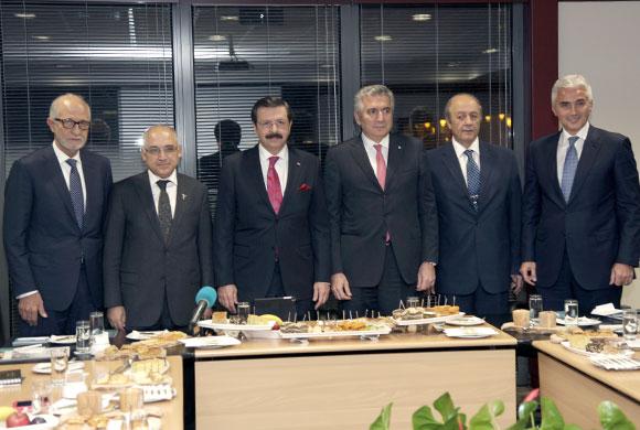 B20 Yürütme Kurulu Toplantısı İstanbul Sanayi Odası'nda Yapıldı