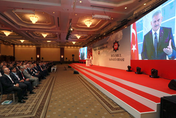 "Prime Minister Binali Yıldırım Addresses Turkey at the ICI Meeting: ""Our Democracy and Economy Remain Strong As Ever"""