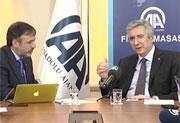 İSO Başkanı Bahçıvan, Anadolu Ajansı Finans Masası'nın Konuğu Oldu
