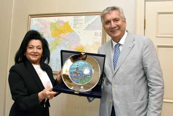 İSO Başkanı Bahçıvan, Muğla Valisi Civelek ve Muğla TSO Başkanı Karakuş'u Ziyaret Etti