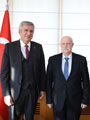 Mironoviç, Consul General of Belarus Pays Courtesy Visit to ICI Chairman Bahçıvan