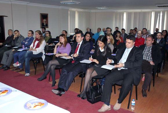 İSO, İŞKUR İstanbul İl Müdürü Coşkun'u Beylikdüzü'nde Sanayicilerle Buluşturdu