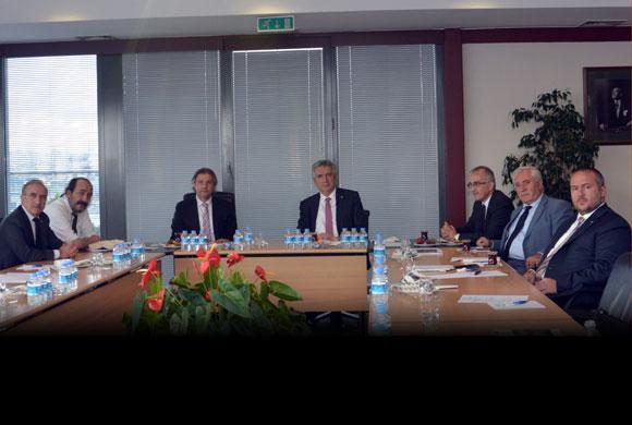 Beyoğlu Belediye Başkanı Demircan İSO Yönetim Kurulu'nu Ziyaret Etti