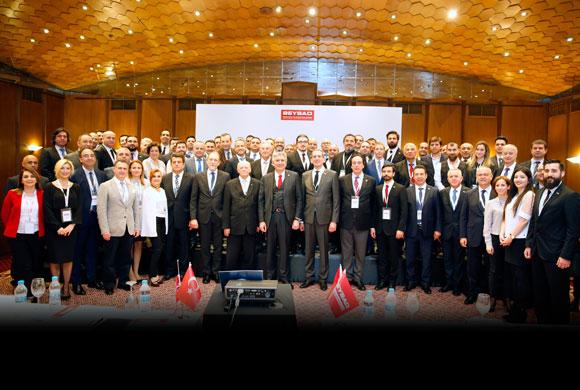 İSO Başkanı Erdal Bahçıvan BEYSAD Genel Kurulu'nda Ekonomi Gündemini Değerlendirdi