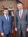 İSO Başkanı Erdal Bahçıvan'dan BİST Başkanı Karadağ'a Nezaket Ziyareti
