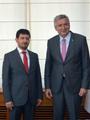 BİST Başkanı Himmet Karadağ'dan İSO Başkanı Erdal Bahçıvan'a Ziyaret