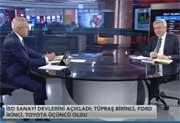 İSO Başkanı Bahçıvan, Bloomberg HT'ye konuk oldu 30.05.2018