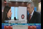 İSO Başkanı Bahçıvan Bloomberg HT'de, 22.02.2017