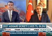 İSO Başkanı Bahçıvan, BloombergHT'de (28.12.2020)
