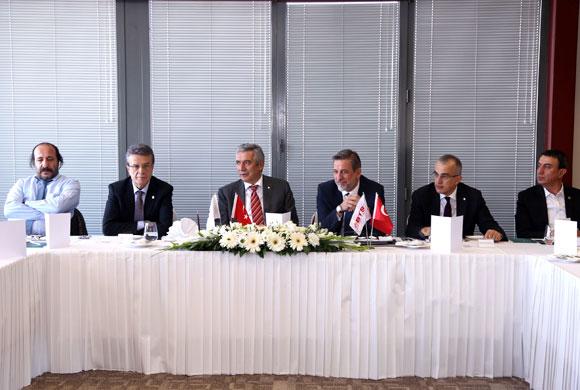 Bursa Ticaret ve Sanayi Odası Yönetimi, İstanbul Sanayi Odası'nda
