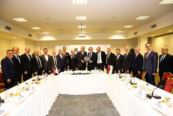 İSO ve BTSO, Ortak Yönetim Kurulu Toplantısında Bir Araya Geldi