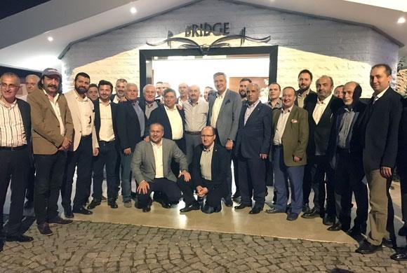 İSO Meclis ve MESKOM Üyeleri, Çalışma Bakanı Müezzinoğlu'yla Sahurda Buluştu