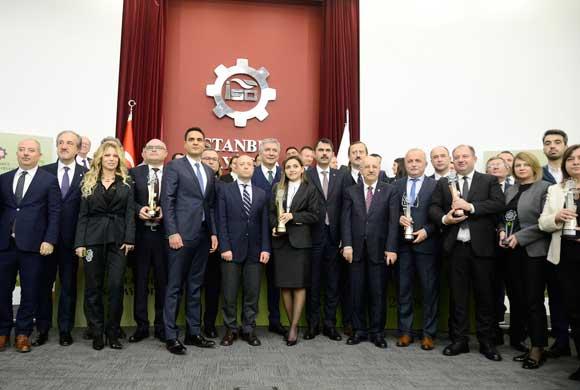 İSO 2018 Çevre Ödülleri, Çevre Bakanı Murat Kurum'un Katılımıyla Sahiplerini Buldu