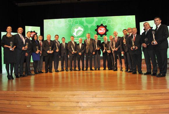 İstanbul Sanayi Odası 14. Çevre ve Enerji Ödülleri Sahiplerini Buldu