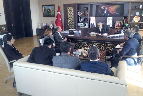 İSO Heyeti, Çevre ve Şehircilik Bakanlığı Müsteşarını Ziyaret Etti