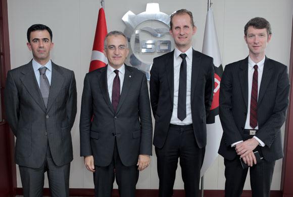 Danimarkalı Bürokratlar İSO'yu Ziyaret Etti