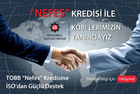 "İSO'dan KOBİ'lerimize ""Nefes"" Kredisi"