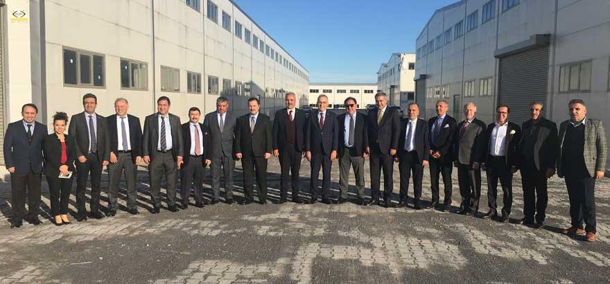 İSO Üyesi Sanayiciler Diyarbakır ve Şanlıurfa'da Yatırım İncelemeleri Yaptı