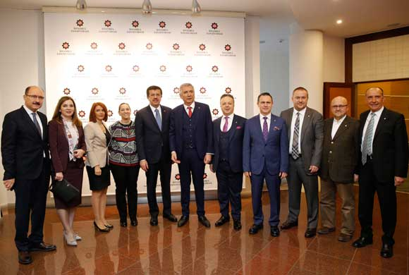MESKOM-Ekonomi Bakanlığı Ortak Akıl ve İstişare Toplantısı Ekonomi Bakanı Nihat Zeybekci'nin Katılımıyla Yapıldı