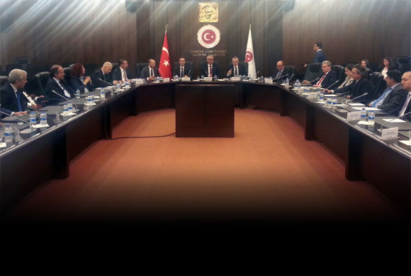 İSO Heyeti Ekonomi Bakanlığı'nı Ziyaret Ederek Çözüm Önerilerini İletti