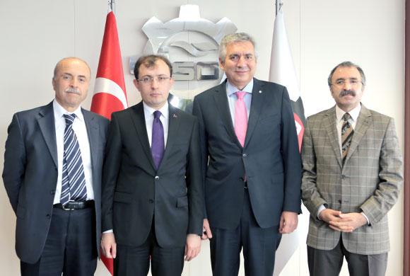 AK Parti'nin Ekonomiden Sorumlu Yöneticileri Bahçıvan'ı Ziyaret Etti