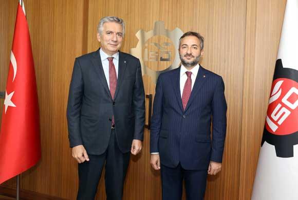 Elazığ TSO Başkanı Asilhan Arslan'dan İSO Başkanı Bahçıvan'a Nezaket Ziyareti