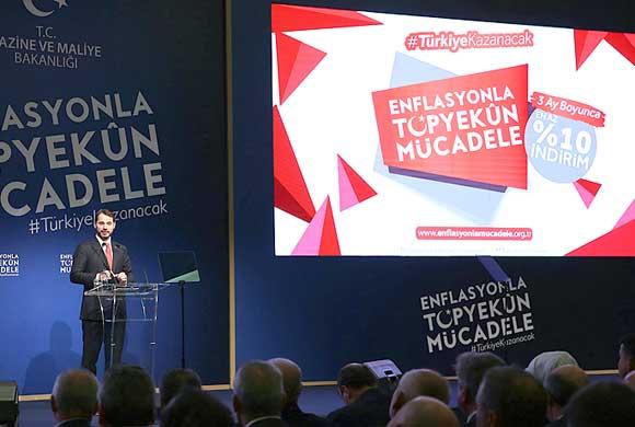 Enflasyonla Topyekûn Mücadele Programı İş Dünyasının da Katıldığı Toplantıyla Açıklandı