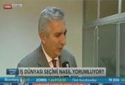 İSO Başkanı Erdal Bahçıvan Bloomberg TV`de, 02.11.2015