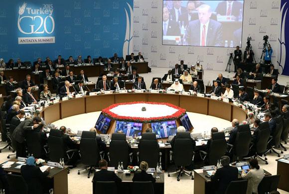 Cumhurbaşkanı Recep Tayyip Erdoğan G20 Zirvesinde Dünya Liderlerine Seslendi