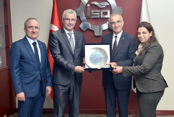 The Istanbul Chamber of Industry (ICI) Welcomes Representatives from Morocco's Fez-Meknes Chamber of Trade, Industry and Services