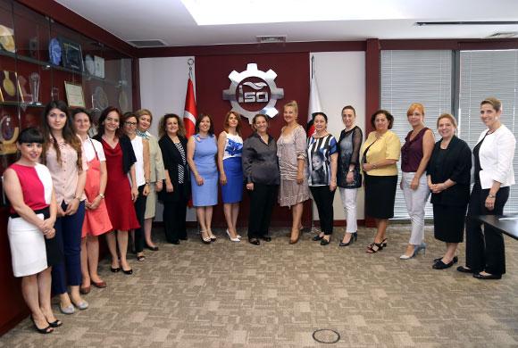 Sanayici Kadın Girişimciler Çalışma Grubu, İlk Toplantısını İSO'da Gerçekleştirdi
