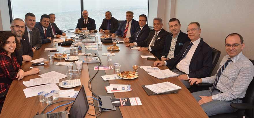 48, 49, 50, 51 ve 52. Grup Meslek Komiteleri Ortak Toplantısı Gerçekleştirildi