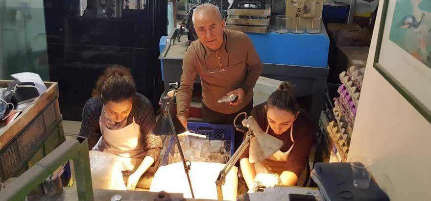 Nuh Kuşçulu Seramik ve Cam Teknolojisi MTAL Öğretmenlerine Firmalarda Teknik Eğitim Düzenlendi