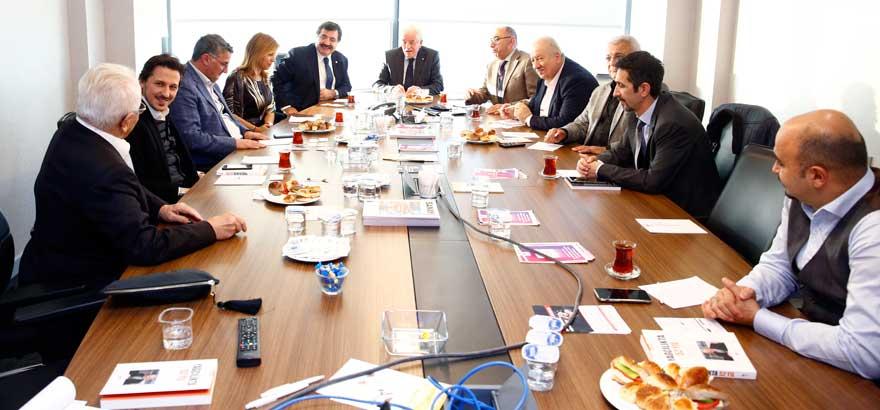 Bitkisel Gıda Ürünleri Sektörü ile Makine sektörü Ortak Meslek Komitesi Toplantılarını Birlikte Gerçekleştirdi
