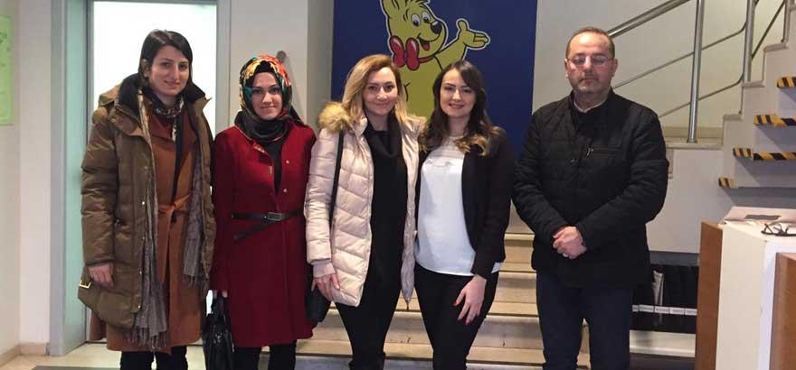 İSO Mesleki Eğitim Projemiz Kapsamında Ocak Ayında Esenyurt Fikriye Nüzhet Bilgincan MTAL'de Sistematik Firma Ziyaretleri Gerçekleştirildi